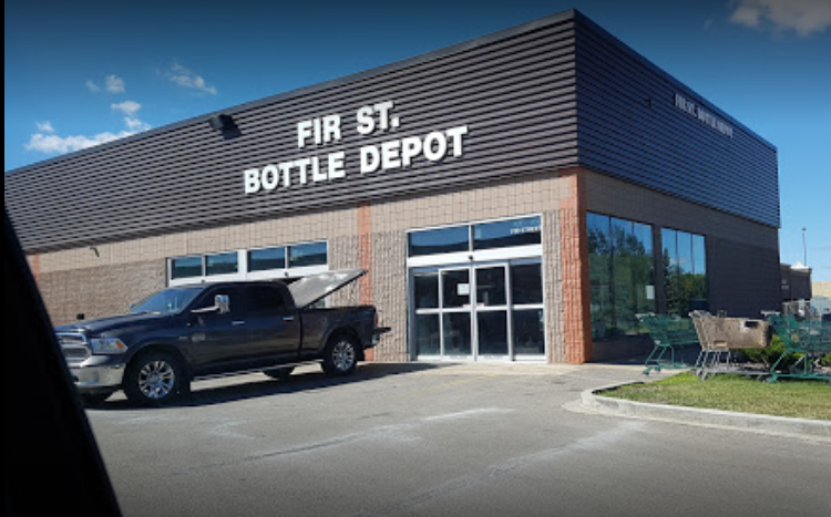 bottle recycling deport in sherwood park